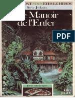 Defis Fantastiques 10 - Le Manoir de l'Enfer
