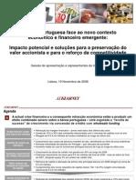 Estudo 2008 a Banca Portuguesa