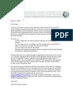 Endorsement Sign on Letter_General