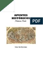 Apuntes Históricos - Primera Parte (Versión Corregida)