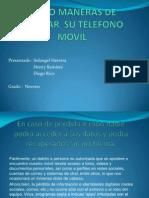Cinco Maneras de Blindar Su Telefono Movil