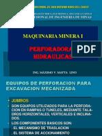 PERFORADORAS HIDRAULICAS