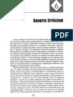 Foss Generic Criticism