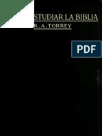 Como Estudiar La Biblia Para Obtener Mayor Provecho 1916