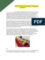 INVESTIGAR LA LEGISLACIÓN INTERNACIONAL
