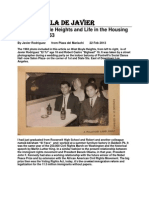 Westside Boyle Heights and Life in the Housing Projects in 1963