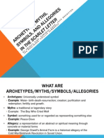 Archetypes, Myths, Symbols, And Allegories-2