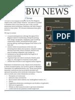 NEGBW Newsletter February 2013