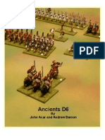 Ancients D6 Rulebook