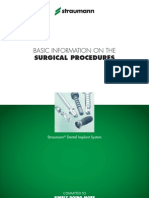 Basic Information on the Surgical Procedures