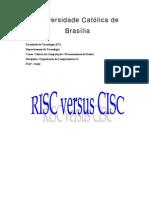 Plataformas CISC e RISC