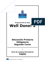 Well Done! 2 Programación de ingles.doc