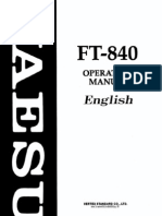 FT840 User Manual