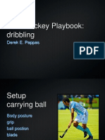 Field Hockey Playbook Dribbling
