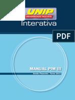 Manual Pim III 2012