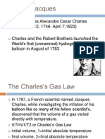 The Charles's Gas Law