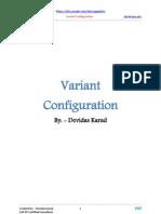 Variant Configuration