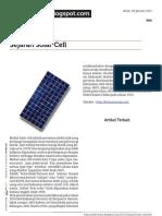 Sinelectronic.blogspot.com Sejarah Solar Cell