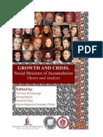 Kotz, McDonough, Reich, Boyer etc Estrutura Social de Acumulação, conferência