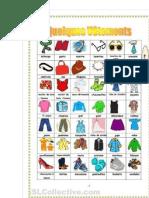 Vocabulaire des vêtements en français