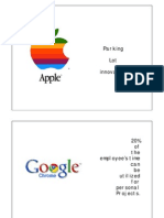 organizational culture apple