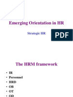 Emerging Orientations HR