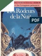 Defis Fantastiques 29 - Les Rodeurs de La Nuit