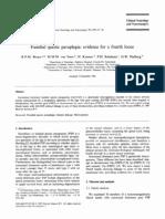 Familial Spastic Paraplegia- Evidence for a Fourth Locus