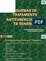 TEMA 11° ESQUEMAS DE TTO ANTITUBERCULOSIS -TB SENSIBLE