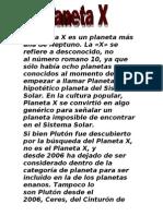 El Planeta X