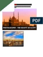 the beauty of egypt scene