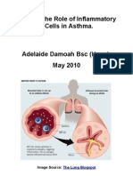 Discuss the Role of Inflammatory Cells in Asthma