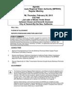 MPRWA Regular Meeting Agenda Packet 02-28-13