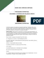 Programa Espiritual