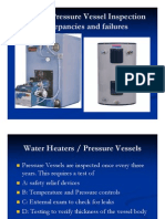 Boiler & Pressure Vessel Inspection Discrepancies and Failures