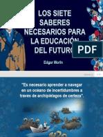 Siete Saberes Para La Educacion Del Futur