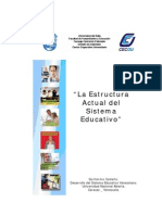 La Estructura Actual Del Sistema Educativo