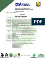 Agenda Foro Regional y Nacional