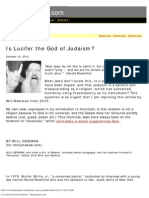 Is Lucifer the God of Judaism - Henrymakow.com