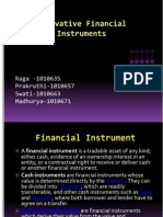 Financial securities and derivatives