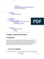 Campotenial Electrico