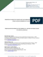 PORTFÓLIO NO DESENVOLVIMENTO DE NOVOS PRODUTOS: UMA ANÁLISE DAS PUBLICAÇÕES EM PERIÓDICOS NACIONAIS