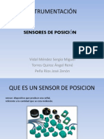 Sensores de Posicion