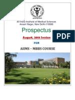 MBBS Prospectus 2013