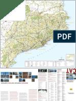 Mapa Turistic Catalunya