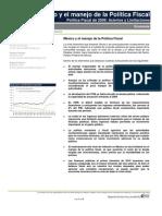 México y el manejo de la Política Fiscal