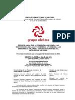 Informe Anual Grupo Elektra 2011