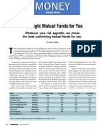 The Right Mutual Funds for You