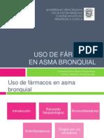 3.Uso de fármacos en asma bronquial