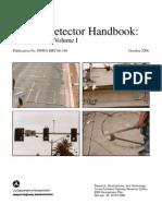 Traffic Detector Handbook October 2006